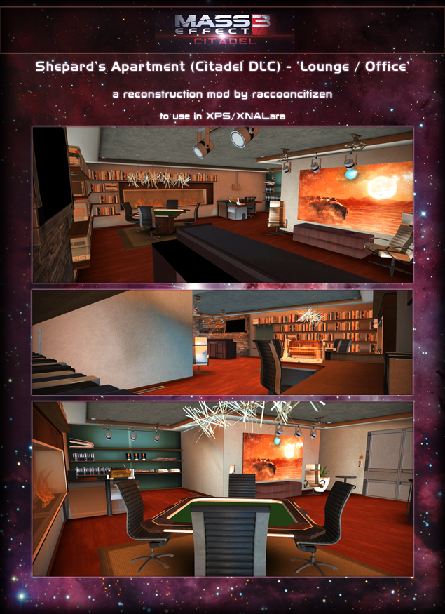 Shepard's Lounge/Office (Citadel) XPS - (DOWNLOAD) by raccooncitizen