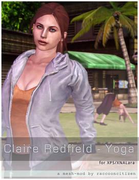 Claire NextGen Yoga pack for XNA-XPS