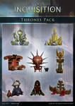 DAI Props - Thrones pack XPS - (DOWNLOAD)