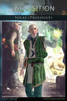 DAI Characters - Solas (Prologue) XPS - (DOWNLOAD)