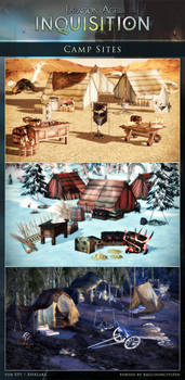 DAI Props - Camp Sites Pack XPS - (DOWNLOAD)