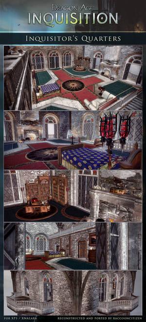 DAI Sceneries - Inquisitor's Quarters XPS DOWLOAD