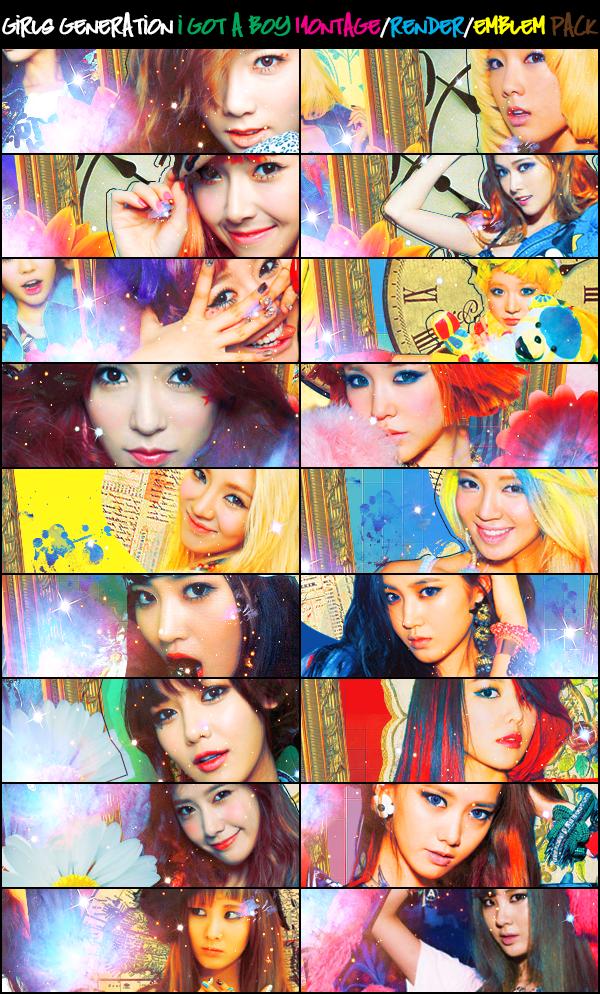 Girls' Generation (SNSD) ~ I Got a Boy Pack ~ by ShimSungHyo