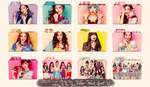 SNSD ~Casio Baby G/Kiss Me~ Folder Pack Part 3