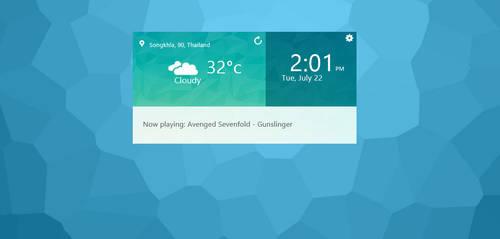 LG G3 Widget by tosbodes