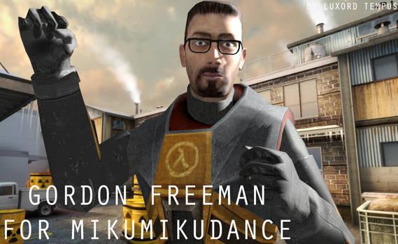 Gordon Freeman for MMD