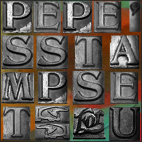 Pepes Stamp Set brushes