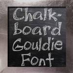 Chalkboard Gouldie