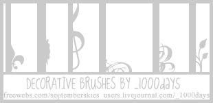 Decorative Icon Brushes