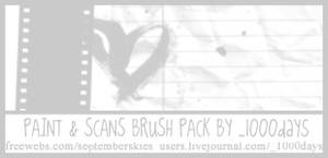 Paint and Scans - Brushes