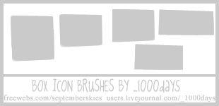 Icon Box Brushes