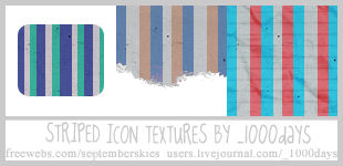 Colorful Icon Texture Pack 001