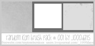Random Icon Brush 001