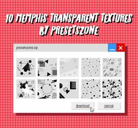 Memphis Transparent Textures Pack