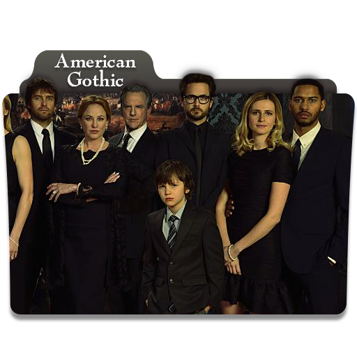 American Gothic Folder Icon By Viro9