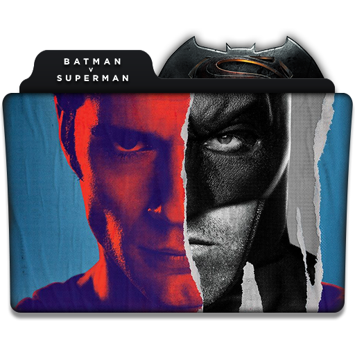 BATMAN V SUPERMAN: DAWN OF JUSTICE (Folder Icon) by viro9 ...