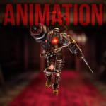 Big Sister Turntable Animation by Ananina23