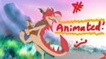 Dancing Dragon OC Animation ~ Asher and Sahara by KayzKraze