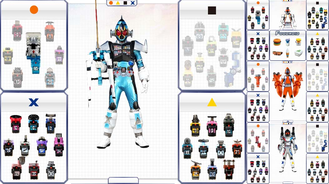 DRIVER FOR KAMEN RIDER FOURZE FLASH