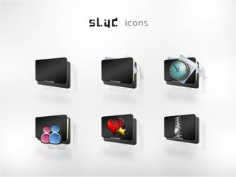 Slyd Icons Package by AzizNatour
