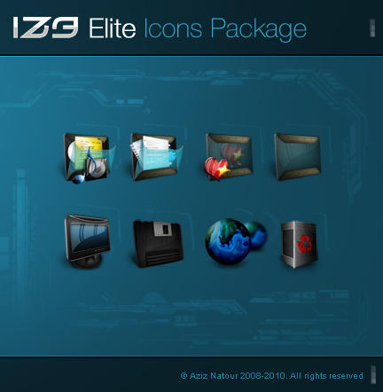 iZ3 Elite - Icons Package by AzizNatour