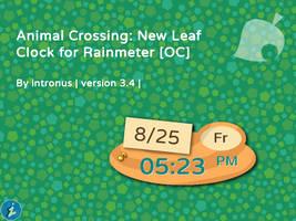 Animal Crossing: New Leaf Clock v3.4
