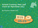 Animal Crossing: New Leaf Clock v3.4 by intronus