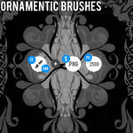 Ornamentic Brushes - ABR + PNG