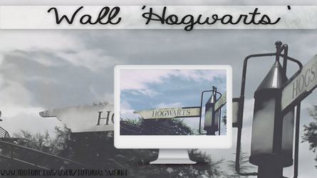 Wallpaper 'Hogwarts' By TutosWonderland by TutorialsWendy