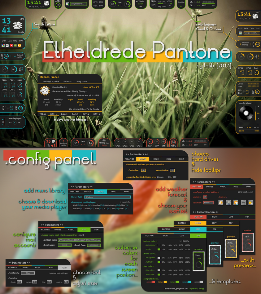 Etheldrede pantone by lalibi