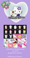 Hello Kitty Desktop Icons