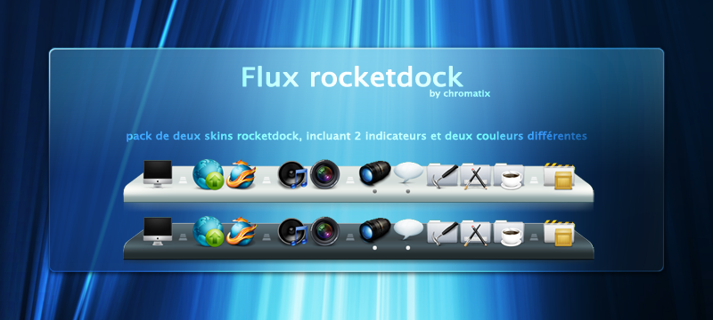 flux rocketdock by chromatix