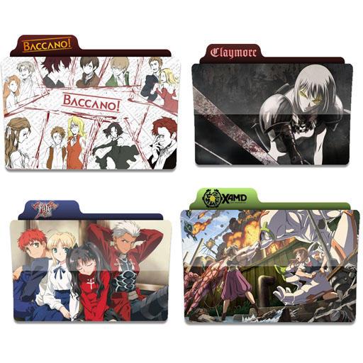 Anime Icon Folder By Tobinami On Deviantart: Anime Folder Icons 4 By Tinpopo On DeviantArt