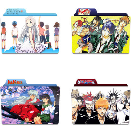Anime Icon Folder By Tobinami On Deviantart: Anime Folder Icons 6 By Tinpopo On DeviantArt