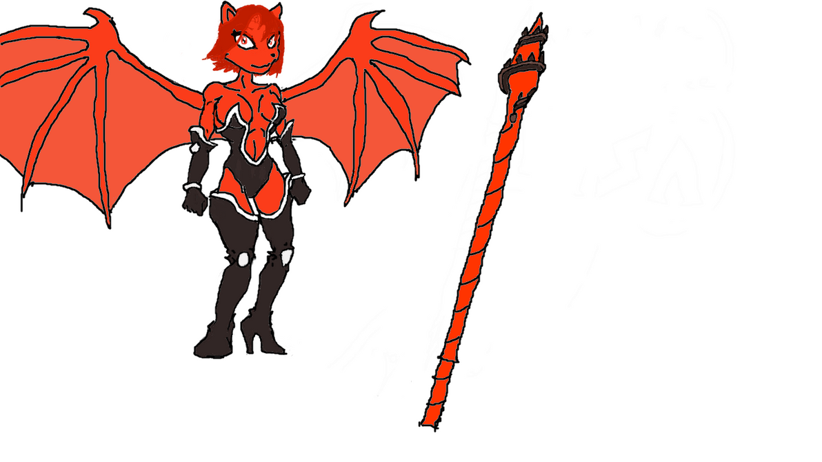 Lisa, the Demon Knightess! by JudasCain