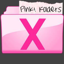 Pink System Folder Set