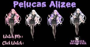Pelucas Alizee PACK by School-shooter by School-shooter