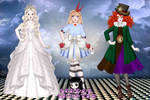 Alice in madland PACK by School-shooter