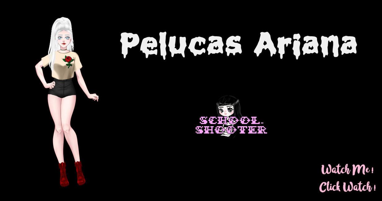 PACK Pelucas Ariana by School-shooter by School-shooter