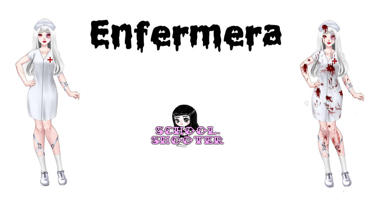 Enfermera PACK by School-shooter
