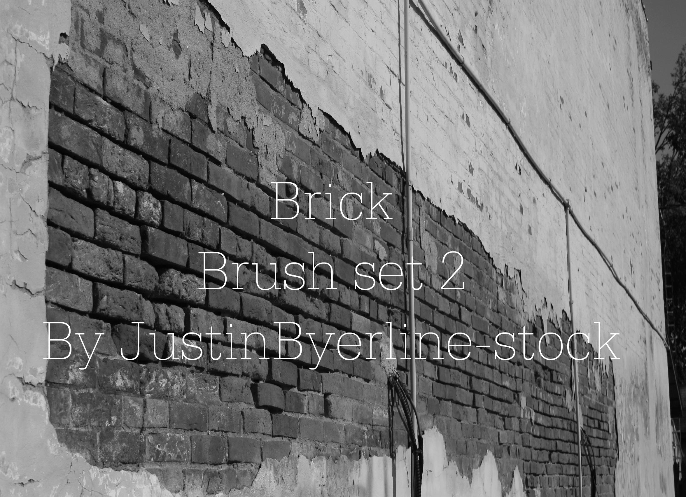 Brick Brush Set 2 by JustinByerline-Stock