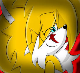 Miles Tails Prower XDAIRANTOUX Style Avatar GIF
