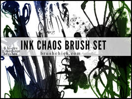 Ink and Chaos Brush Pack by brushchick