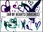 Jar of Hearts Brush Pack