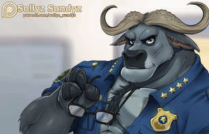 Chief Bogo animated [free version] by Sollyz