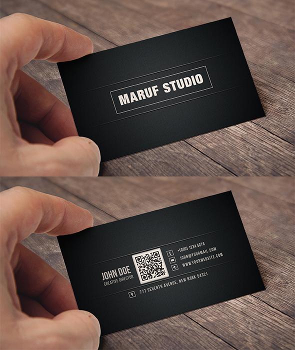 Blakish Business card by maruf1