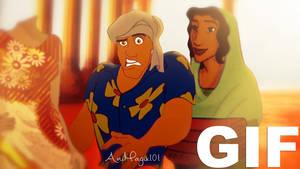 Naveen's *priceless* Reaction {GIF}