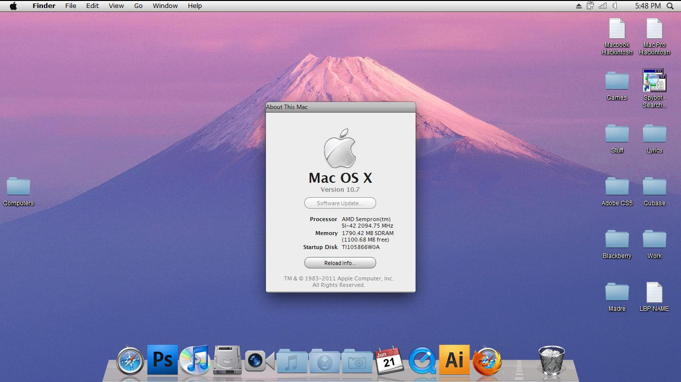 Download Mac Os X Lion For Windows 7