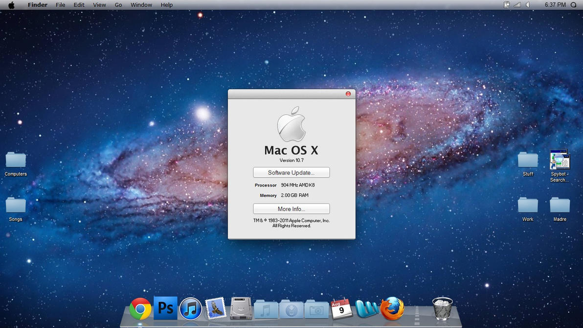 Mac os x lion for win 7 part 1 by djtransformer01 on for Innenarchitektur mac os x