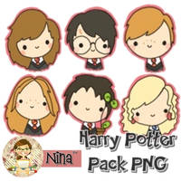 Pack personajes Harry Potter png by Nanfuhe96